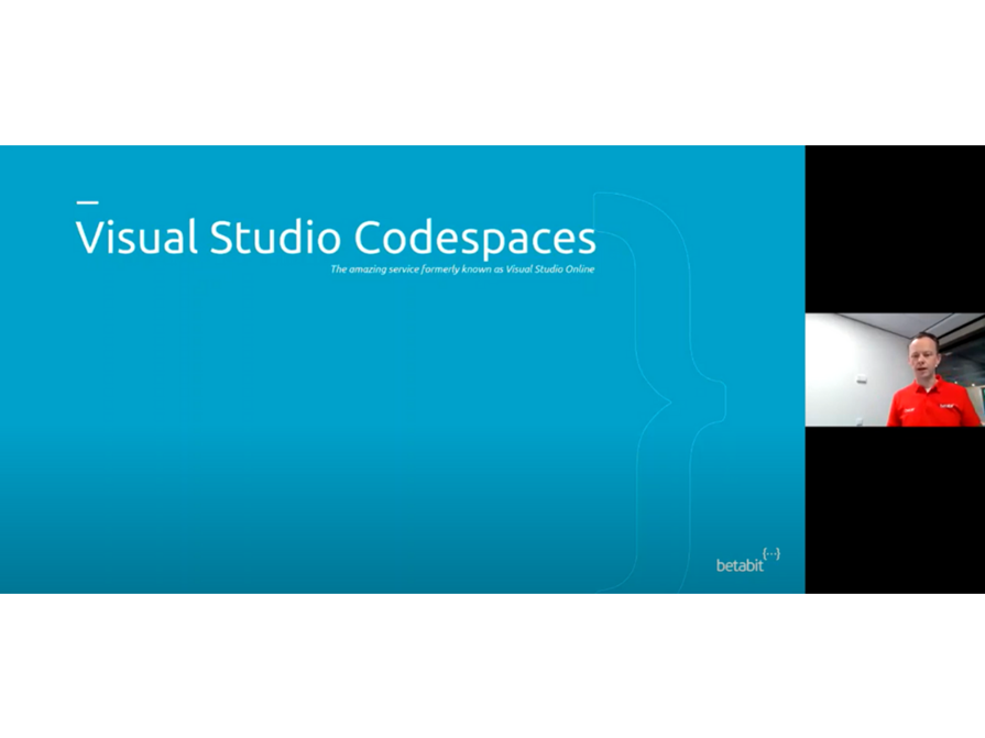 Betatalks Live Remote First With Visual Studio Codespaces And Live Share Webinar On Demand