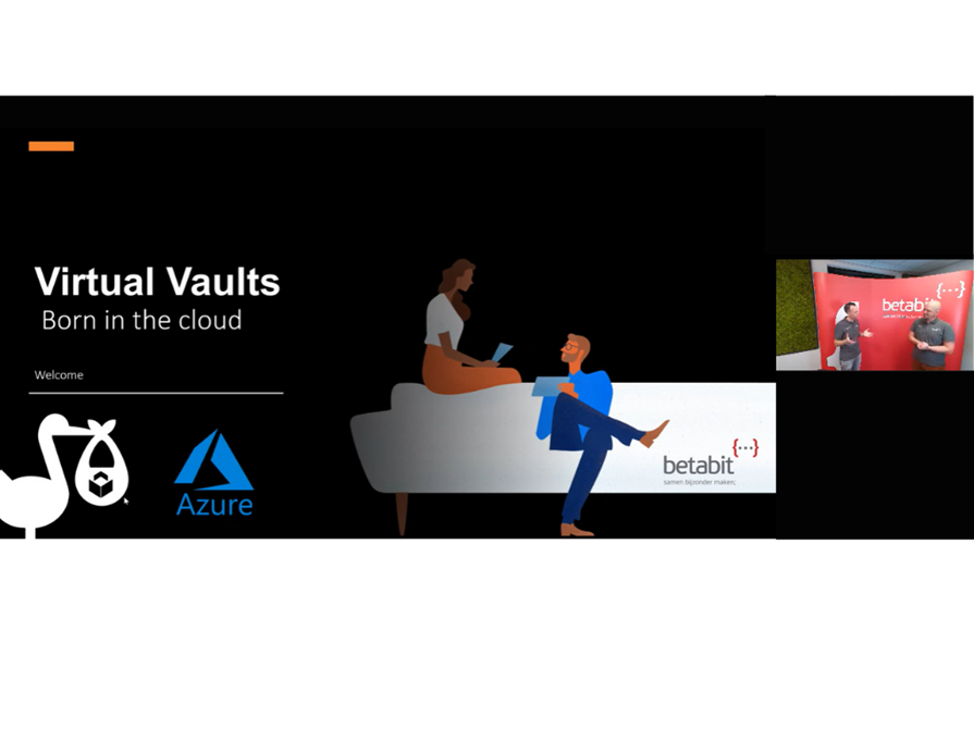 Betatalks Live; Virtual Vaults, Born In The Cloud (Webinar, July 1, 1.30 2.30)